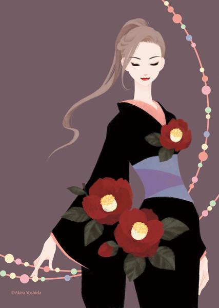 Japan Beauty「椿」