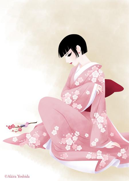 Japan Beauty「後朝の文(きぬぎぬのふみ)」