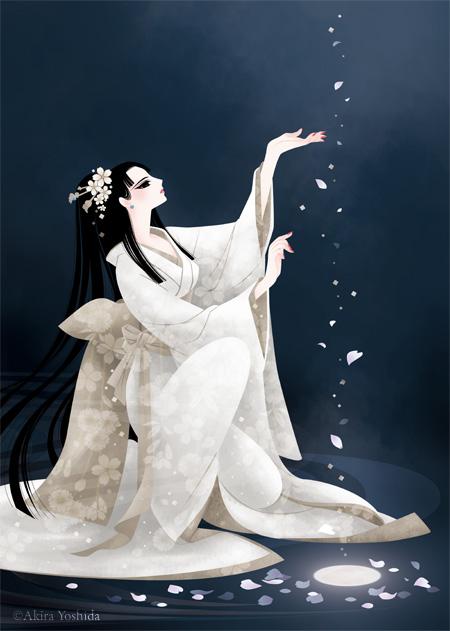 和風美人 雪月花