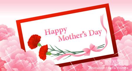 「母の日に、感謝をこめて」 カード