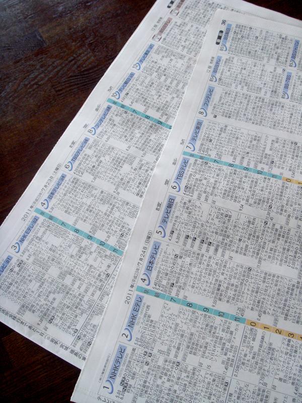 新聞も地デジ化