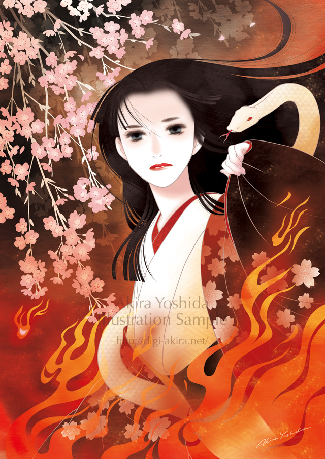 「清姫」メイキング