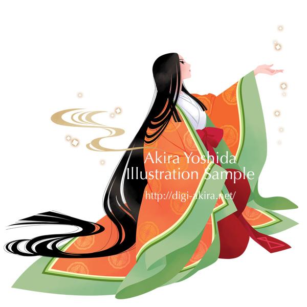 SAKURA 恋水ローズ【温泉水 化粧水】のパッケージとPOP用イラスト
