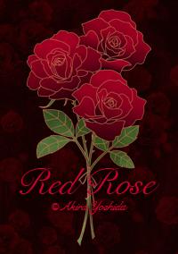 LINEきせかえ Red Rose