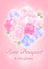 LINEきせかえ Rose bouquet